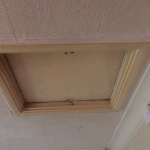 Decorating Ceiling Hatch Before