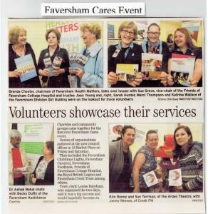 Faversham Cares Event